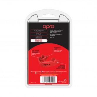 Opro Bronze fogvédő - Piros