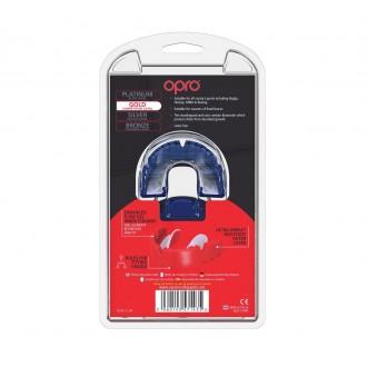 Opro Gold Braces fogvédő - Kék