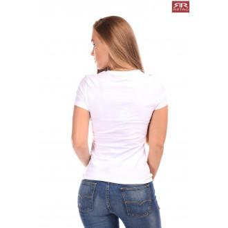 Retro Jeans Női Póló Emerson - Fehér