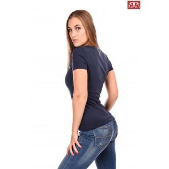 Retro Jeans Női Póló Emerson - Sötétkék