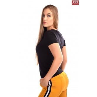 Retro Jeans Női Póló Shela - Fekete