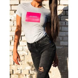 Retro Jeans Női Póló Shela - Szürke