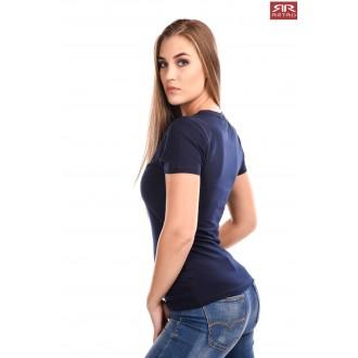 Retro Jeans Női Póló Skyla Sötétkék
