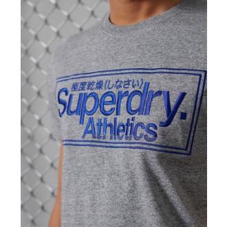 Superdry férfi póló Classic Logo Athletic Szürke