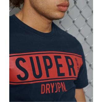 Superdry férfi póló SDRY Panel