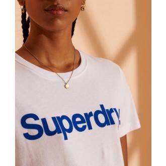 Superdry Női póló Core Logo Flock