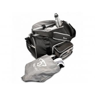 FITMARK Transporter Duffel táska edzőterembe - Fekete