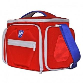 Fitmark thermo táska THE SHIELD - Piros / kék